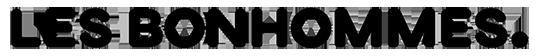 Les Bonhommes - Logo - Noir