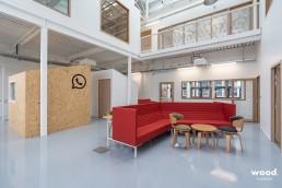 Bonhommes - Installation mobilier de bureaux - Canapé design