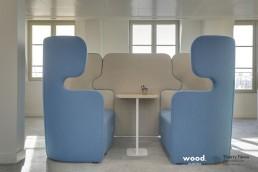 Bonhommes - Montage mobilier professionnel - Bulle de réunion coworking