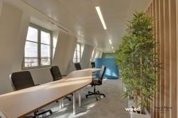 Bonhommes - Montage mobilier professionnel - Bureaux zig zag coworking