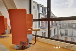 Bonhommes - Montage mobilier professionnel - Fauteuil acoustique coworking